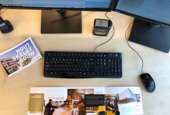 Folder Houtskeletbouw - Verwijs Timmerwerken