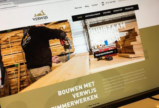 Verwijs Timmerwerken - Nieuwe website 01